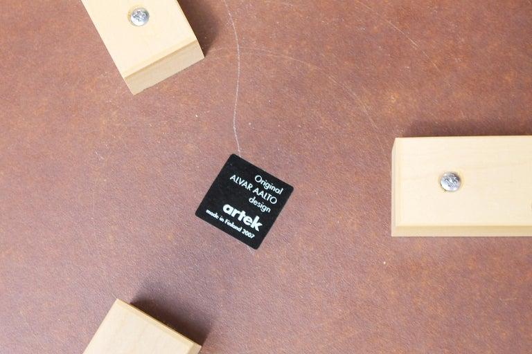 Birch Stool by Alvar Aalto for Artek, 2007 For Sale
