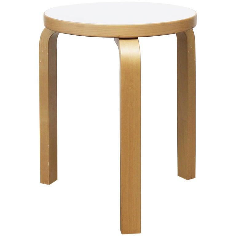 Stool by Alvar Aalto for Artek, 2007 For Sale