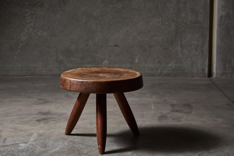 Mid-20th Century Stool by Charlotte Perriand For Sale