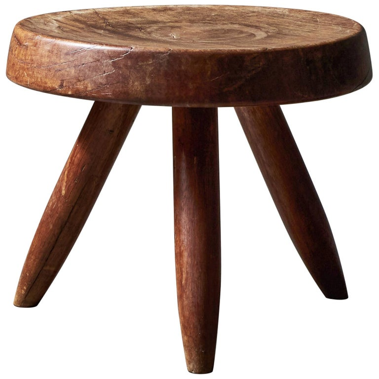 Stool by Charlotte Perriand For Sale