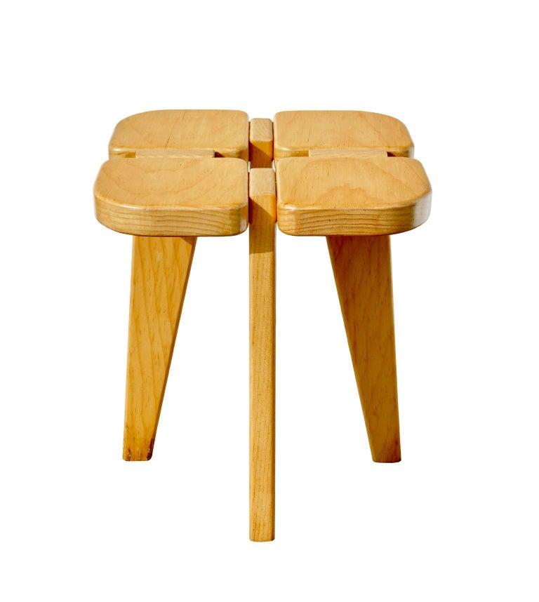 Scandinavian Modern Stool by Lisa Johansson-Pape For Sale