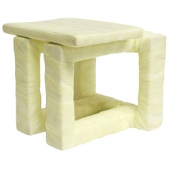 Stool II, Modern Seating and Sculpture in Medical Cast Tape