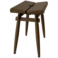 Stool Interlock André Fu Living Grey Oak Grey New Chair