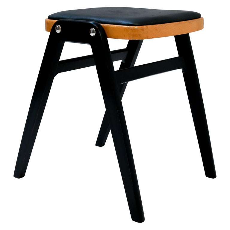 Stool Made in Sweden, 1950s For Sale