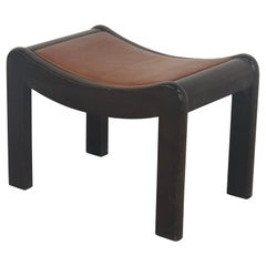"Stool Model ""Curule SN1"" Pierre Chareau French Designer"