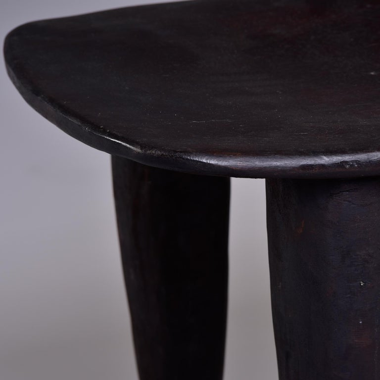 Stool or Table Hand Carved by Senufo People of Ivory Coast 3