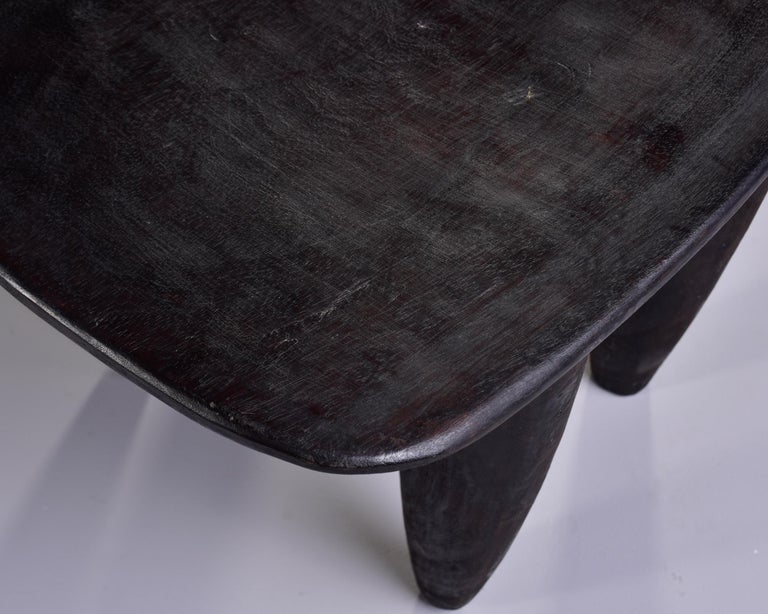 Stool or Table Hand Carved by Senufo People of Ivory Coast 5