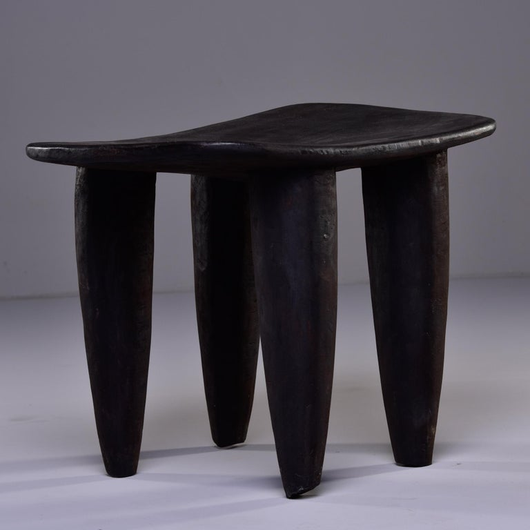 Tribal Stool or Table Hand Carved by Senufo People of Ivory Coast
