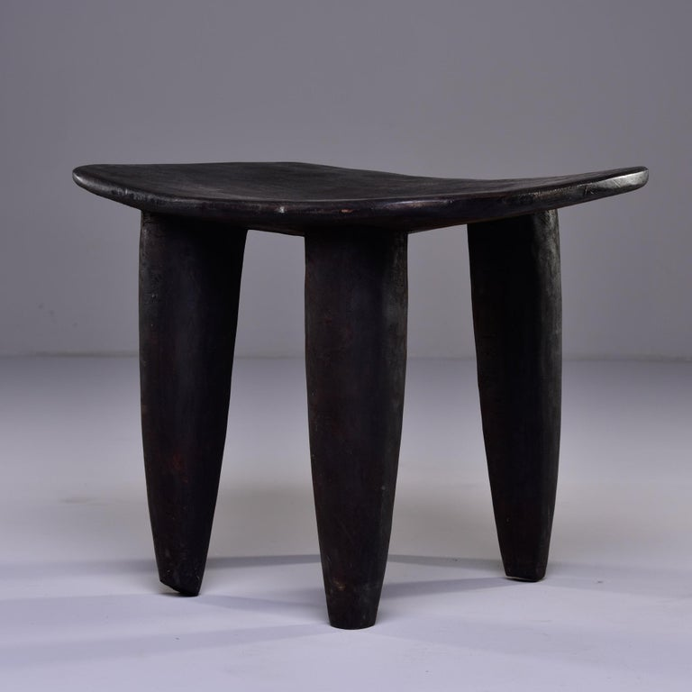 20th Century Stool or Table Hand Carved by Senufo People of Ivory Coast