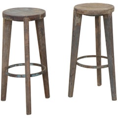 Stool Set by Pierre Jeanneret