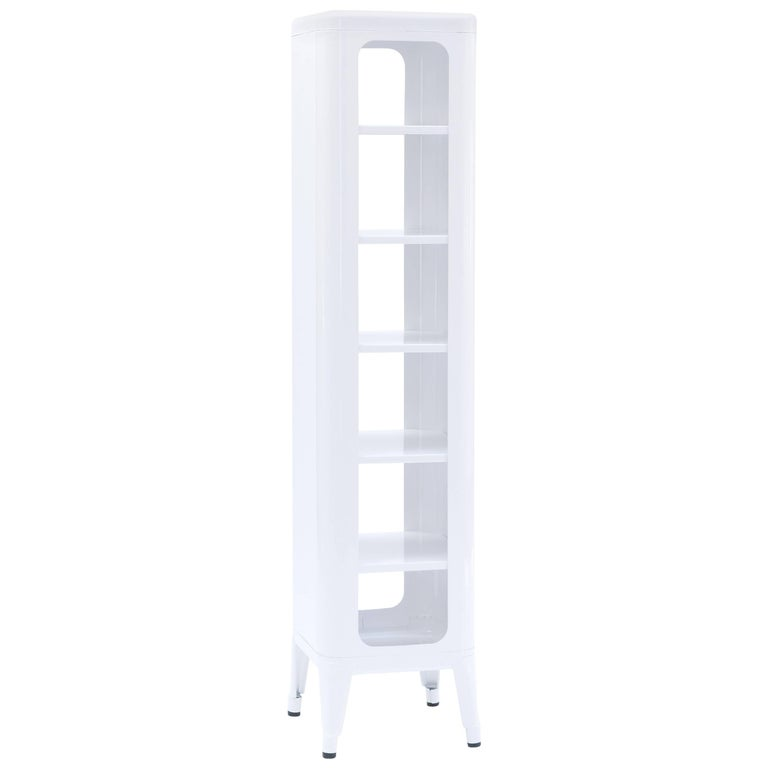 Stool Shelf 1335 in White by Frederic Gaunet & Tolix For Sale