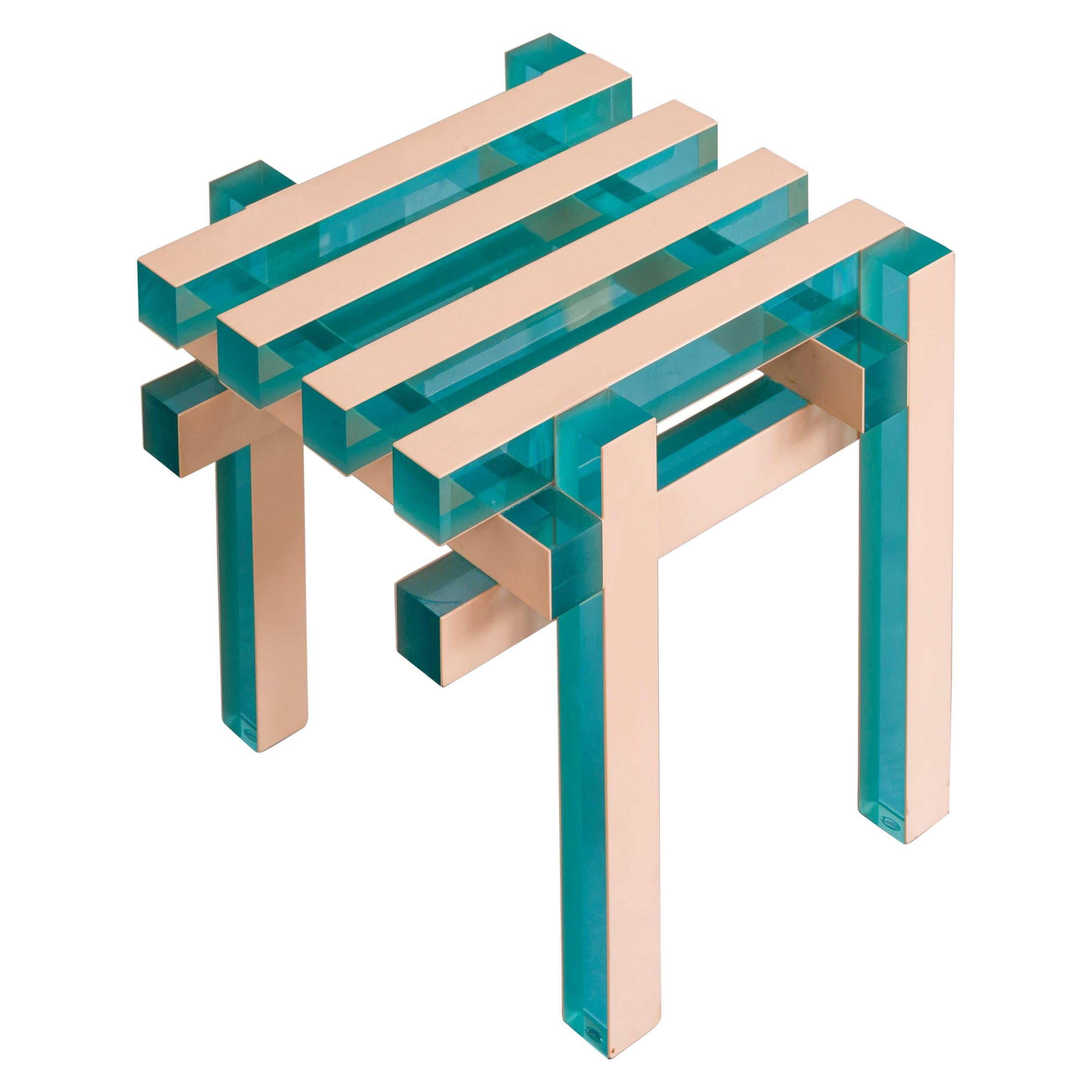 Stool, Side Table by Laurids Gallée