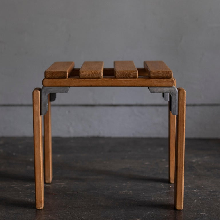 Stools by Georges Candilis and Anja Bromstedt For Sale 2