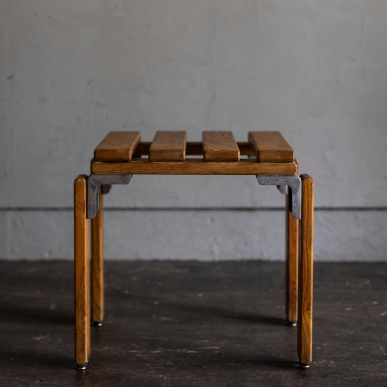 French Stools by Georges Candilis and Anja Bromstedt For Sale