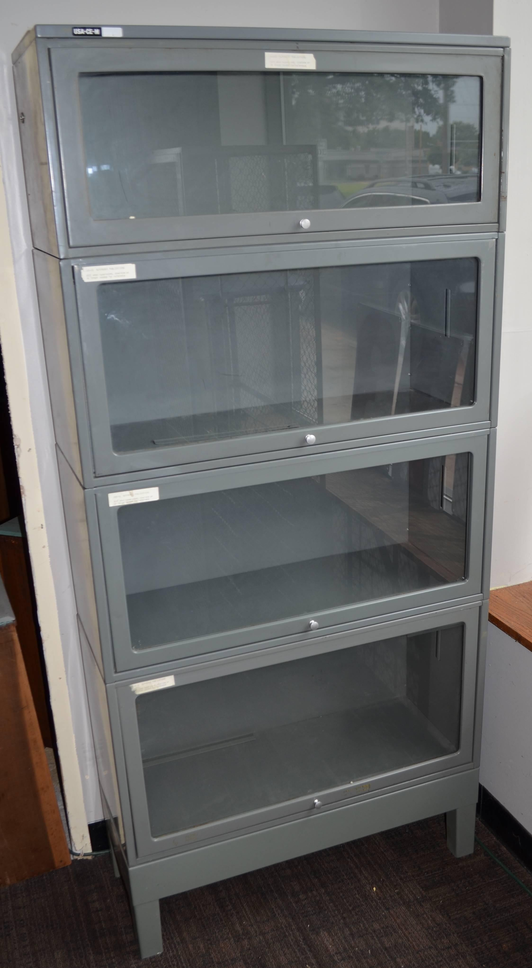 Storage File Cabinet Lawyer S Barrister Bookcase Steel