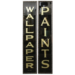 Store Signs WALLPAPER and PAINTS