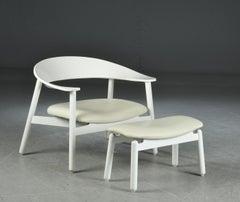 Storefront Week Offer  Henrik Bonnelycke Sculptural Lounge Chair and Ottoman