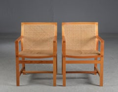Storefront Week Offer1980s Rud Thygesen - Johnny Sorensen Set of Ten Armchairs