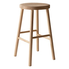 Storia Counter Height Stool in Ash or Oak by Kari Virtanen