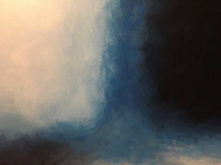 American Storm, Contemporary Color Field Abstract by Benjamin Casiano For Sale