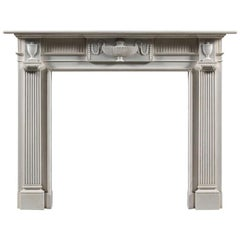The Jamb Stourton Reproduction Neoclassical Fireplace Mantel