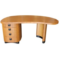 Stow & Davis Kidney Shape Desk