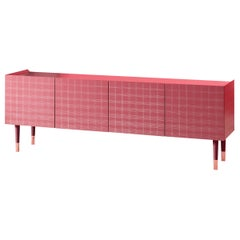 Stoya 4-Door Cabinet with Lacquer and Aniline Legs, by E-GGS