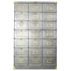 Strafor Clapets Industrial Cabinet, circa 1920s