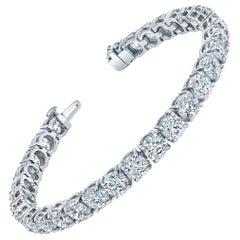 Straight Line Diamond Bracelet