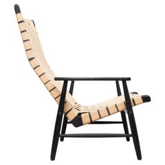 Strap Lounge Chair 1950s, Jens Risom Style