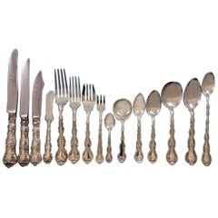 Strasbourg by Gorham Sterling Silver Flatware Service 12 Dinner Set 186 Pieces