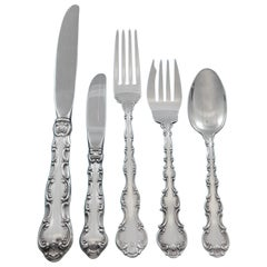 Strasbourg by Gorham Sterling Silver Flatware Set Service 12 Place Size 66 Pcs
