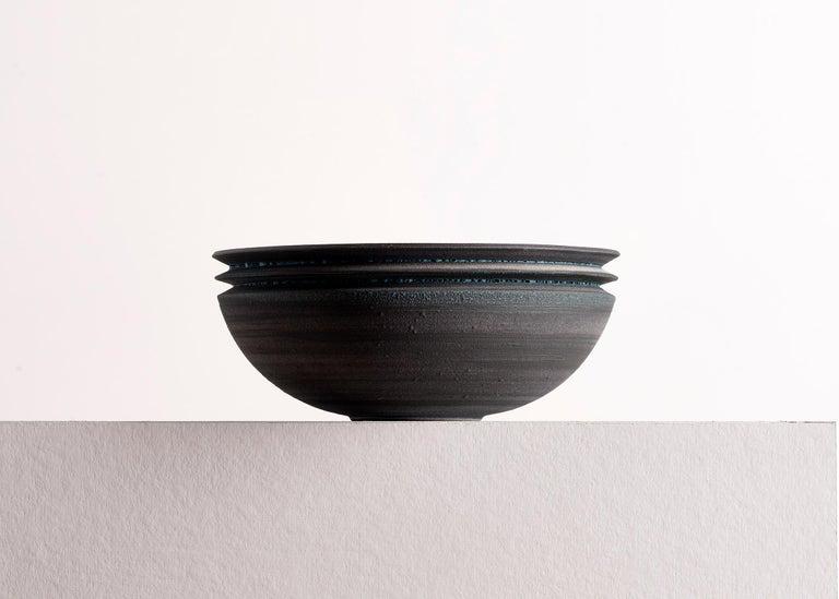 Other Strata, Vessel N, Bowl, Slip Cast Ceramic, N/O Vessels Collection For Sale