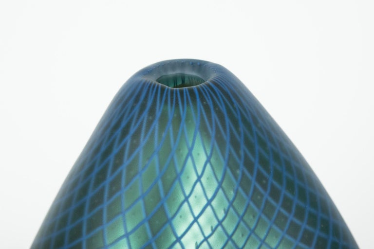 Stratiform Ferro Reticello 001 unique glass sculpture by Liam Reeves In New Condition For Sale In London, GB