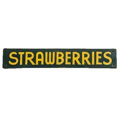 Strawberries Farm Stand Sign