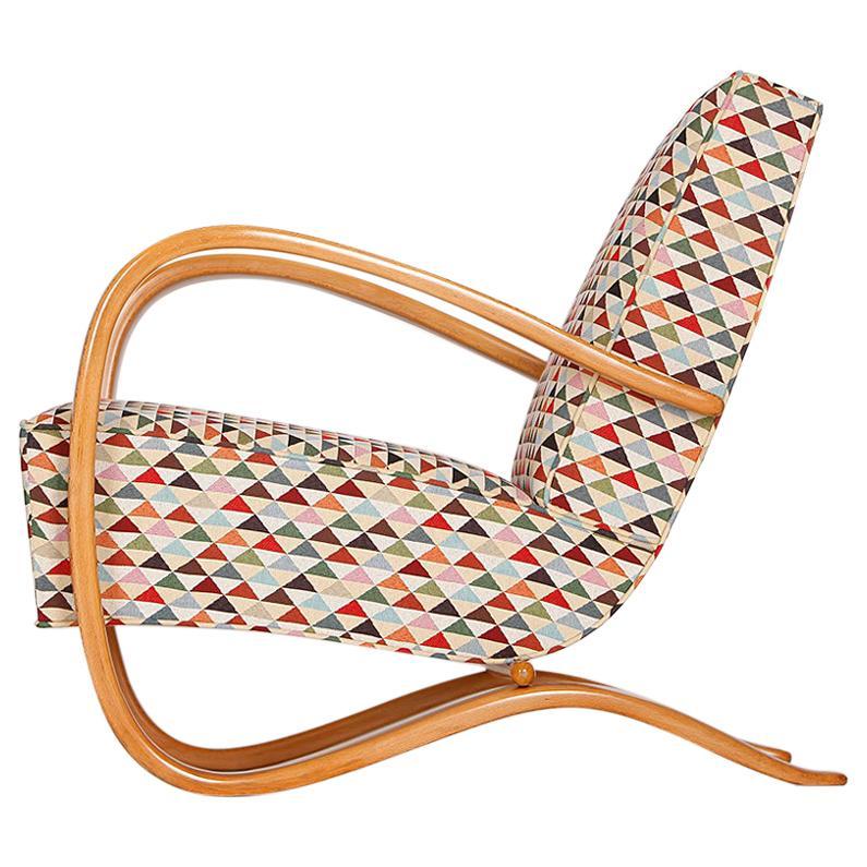 Streamline Chair H-269 by Jindrich Halabala for Spojene UP Zavody, 1930s