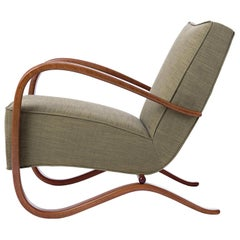 Streamline Chair H-269 by Jindrich Halabala for Spojene UP Zavody, 1930s
