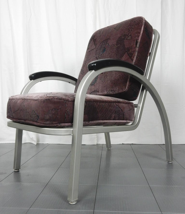 Mid-20th Century Streamline Moderne Lounge Chairs By Emeco For Sale