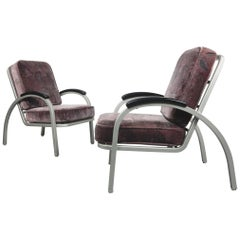 Streamline Moderne Lounge Chairs By Emeco