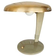 Streamlined Art Deco Cobra Table Lamp