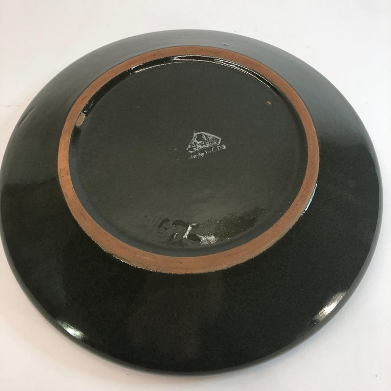 Strehla Ceramic East-Germany Bowl Dish GDR, 1960s For Sale 2