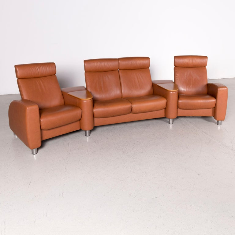Stressless Arion Designer Leather Sofa