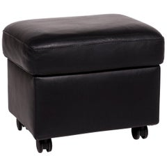 Stressless Arion Leather Stool Black Function