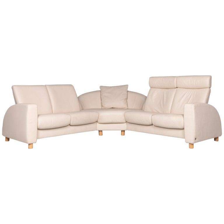 Stressless Designer Leather Corner Sofa