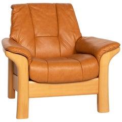 Stressless Kensington Leather Armchair Cognac Brown