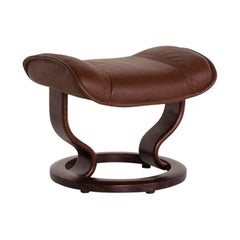 Stressless Leather Stool Brown