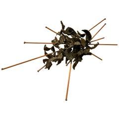Striking Contemporary Brutalist Sculpture by Joey Vaiasuso California Design