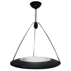 "Striking Ezio Didone ""Mira S"" Pendant Light for Arteluce"