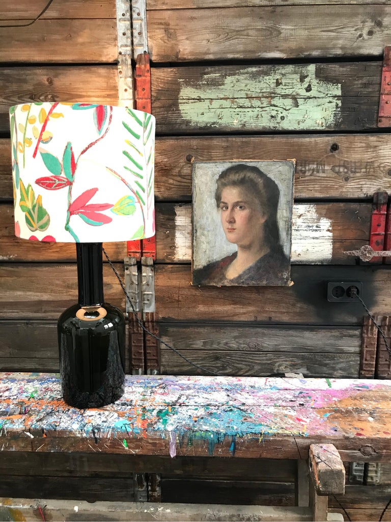 Striking Oil on Canvas Portrait of a Young Lady For Sale 1