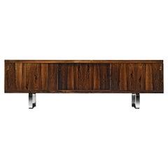 Striking Sideboard in Exotic Hardwood